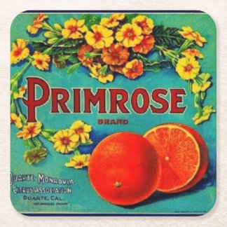 Vintage orange co. Coaster