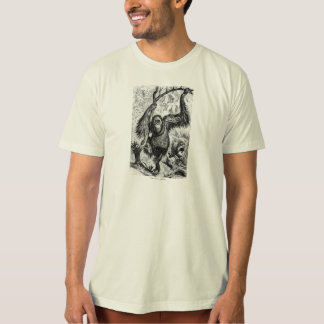 Vintage Orangutan Illustration -1800's Monkey T-Shirt