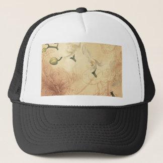 Vintage Orchid Background Trucker Hat