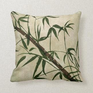 Vintage Oriental Bamboo 1 Throw Pillow