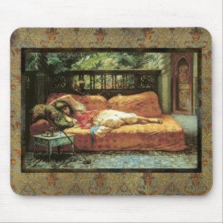 Vintage Orientalist Painting Mousepad