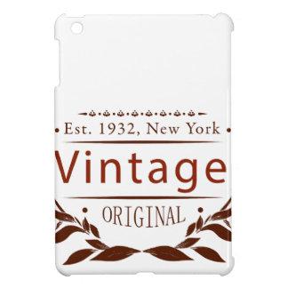 vintage original iPad mini cover
