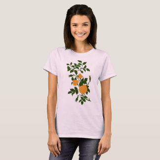 Vintage Ornamental Yellow Rose T-Shirt