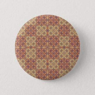 Vintage Ornate Baroque 2 Inch Round Button