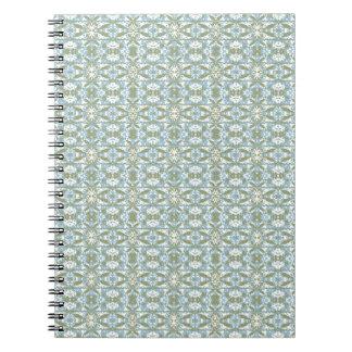 Vintage Ornate Pattern Notebook