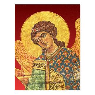 Vintage orthodox ikon, Angel Gabriel Postcard