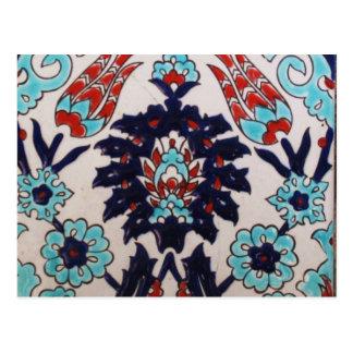 VINTAGE Ottoman Classic tile Postcard