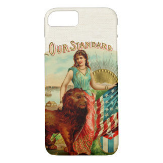 Vintage Our Standard Label iPhone 7 Case