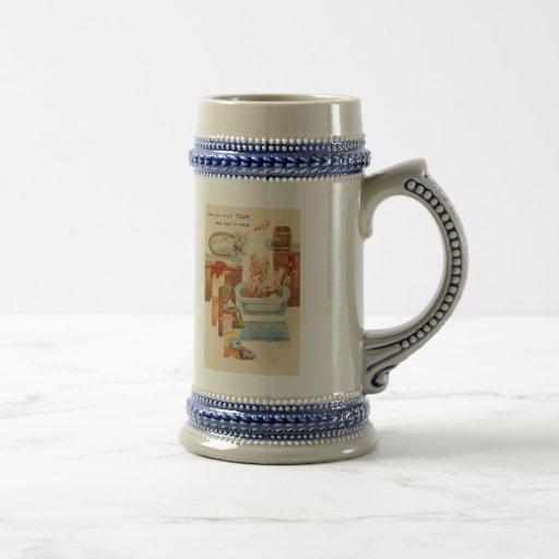 Vintage Over the Hill Birthday Coffee Mug
