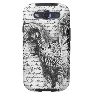 Vintage owl galaxy s3 covers