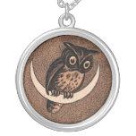 Vintage Owl Pendant