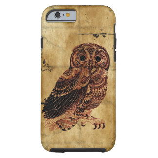 Vintage Owl Tough iPhone 6 Case