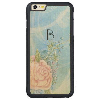 Vintage Painted Rose Carved® Maple iPhone 6 Plus Bumper Case