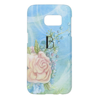 Vintage Painted Rose Samsung Galaxy S7 Case
