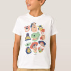 Vintage Painted Toy Story Characters T-Shirt