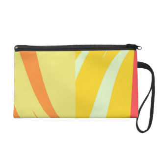 Vintage Painting Abstract Art Deco 2 Wristlets