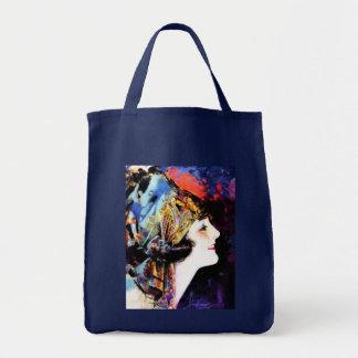 Vintage Painting, Martha Mansfield Tote Bags