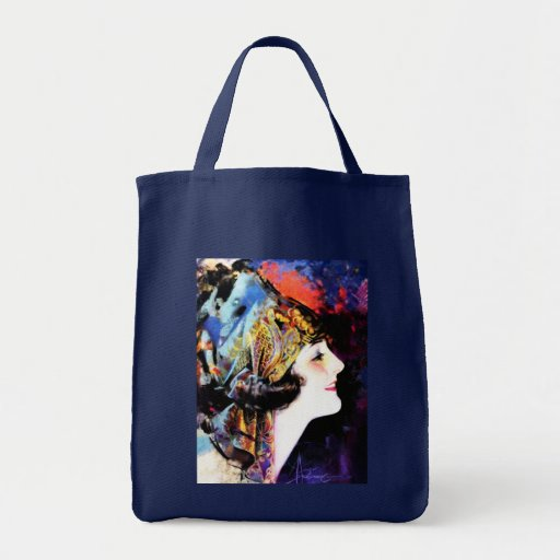 Vintage Painting, Martha Mansfield Tote Bags