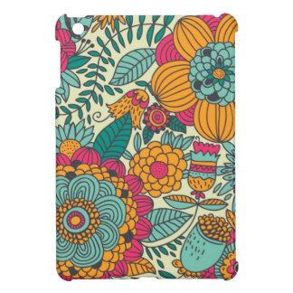 Vintage Paisley Flowers iPad Mini Cover