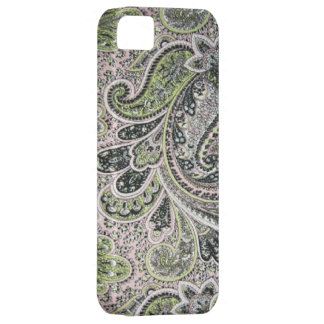 Vintage Paisley Pink Sage Case-Mate iPhone 5 iPhone 5 Cases