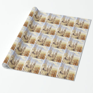 Vintage Palermo Travel Wrapping Paper