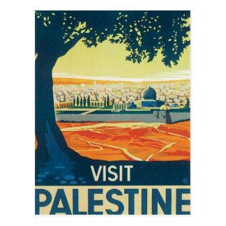 Vintage Palestine Middle East Postcard