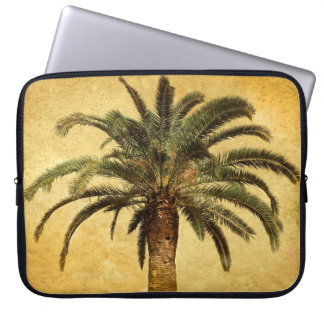Vintage Palm Tree - Tropical Customized Template Laptop Sleeve