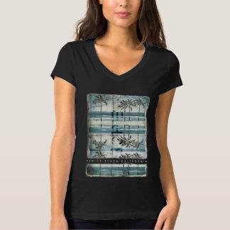 Vintage Palm Tree Venice Summer Beach T-Shirt