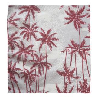 Vintage palm trees bandana