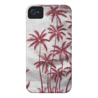 vintage palm trees Blackberry barely there case