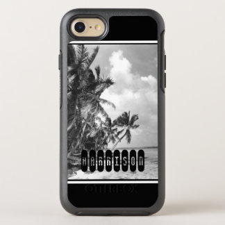 Vintage Palm Trees OtterBox Symmetry iPhone 7 Case