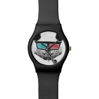 Vintage panda 3-D glasses Watches