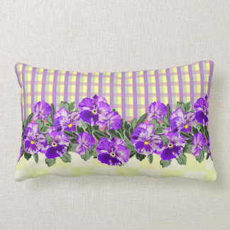 Vintage Pansy Pillow