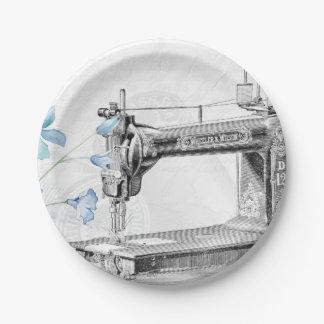 vintage paper plate