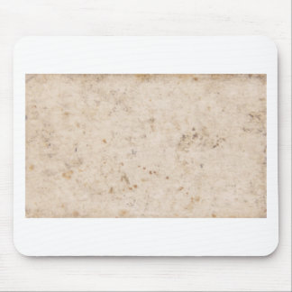 Vintage paper texture bugged mouse pad