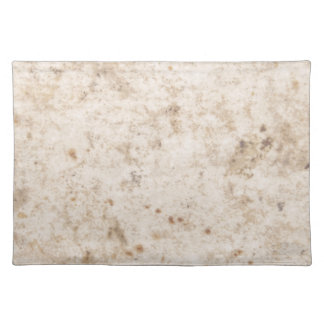 Vintage paper texture bugged placemat
