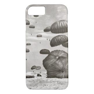 Vintage Paratrooper Landing Phone Cover