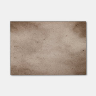 Vintage Parchment Antique Paper Background Blank Post-it Notes