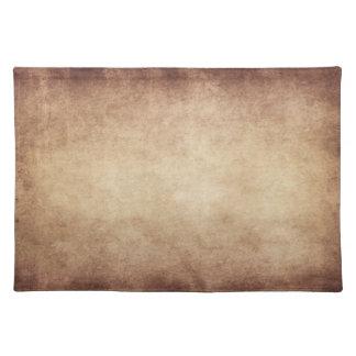 Vintage Parchment Antique Paper Background Custom Place Mats