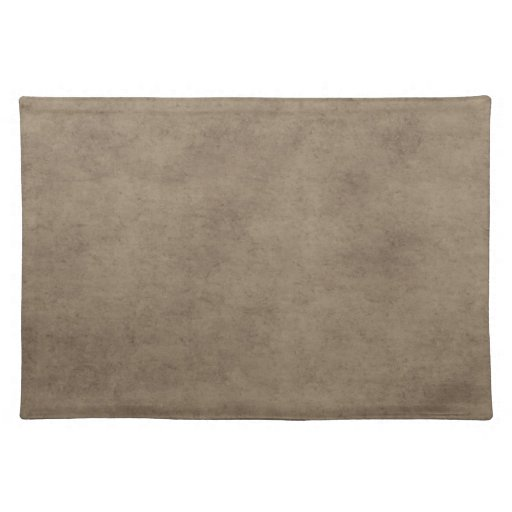 Vintage Parchment or Paper Background Customized Place Mat