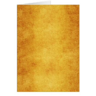 Vintage Parchment Orange Yellow Template Blank Card