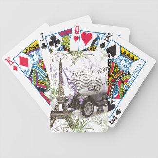 Vintage Paris Bicycle Playing Cards