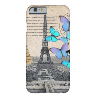 Vintage Paris Butterfly fashion iPhone 6 case