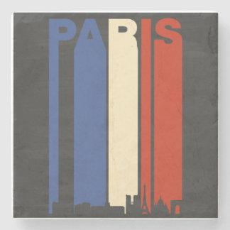 Vintage Paris Cityscape Stone Coaster