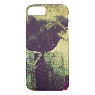 Vintage Paris Eiffel tower halloween Black Raven Case-Mate iPhone Case