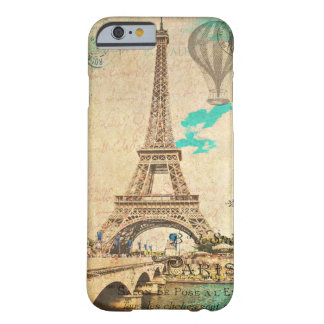 Vintage Paris Eiffel Tower iPhone 6 case