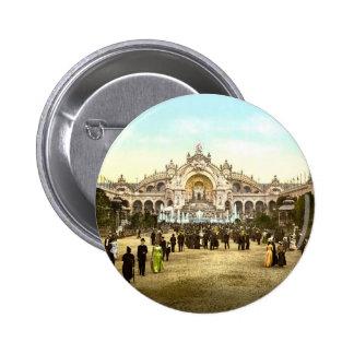 Vintage Paris Exposition of 1900 2 Inch Round Button