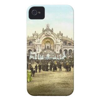 Vintage Paris Exposition of 1900 iPhone 4 Case