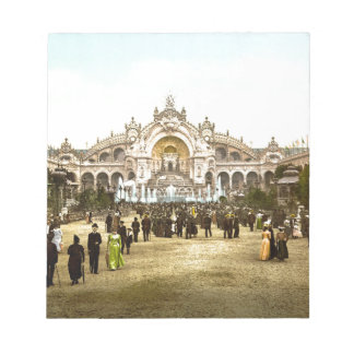 Vintage Paris Exposition of 1900 Notepad