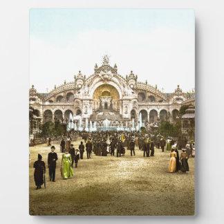 Vintage Paris Exposition of 1900 Plaque